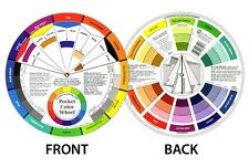 Artists Color Wheel Mixing Guide 13cm Diameter