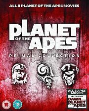 Planet of the Apes: Primal Collection [Blu-ray Box Set, Region Free, 8-Disc] NEW