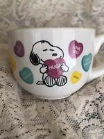 Peanuts Snoopy Woodstock Hugs Love You Best Friends Mug Coffee Cup Ceramic