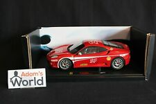 Hot Wheels Elite Ferrari F430 Challenge 1:18 #14 red (PJBB)