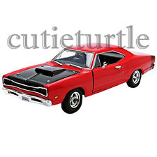 Motormax 1969 Dodge Cornet Super Bee 1:24 Diecast Car 73315 Red