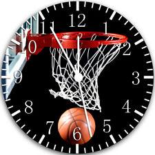 Basketball Frameless ohne Grenzen Wanduhr Schön für Geschenke oder Dekor W118