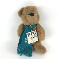 1983 Hug Jr. Teddy Bear Plush Ted Menten Stuffed Animal Jointed with Hang Tag