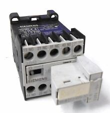 SIEMENS CONTROL RELAY, 3TH2022-0BB4, 2NO+2NC, & RECTIFIER 3TZ4490-0C