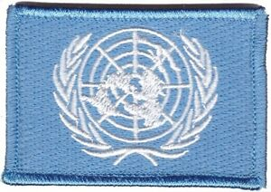 United Nations - UN Deployment Patch hook backing