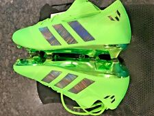 Adidas nemeziz Messi 18.1 FG Talla 8 Totalmente Nuevos Botines De Fútbol  Verde Solar DA9586 0df51879efd13