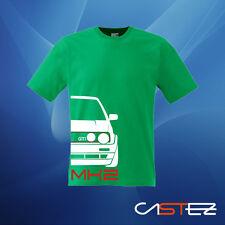 Camiseta coche german style  basado golf mk2 gti vw (ENVIO 24/48h)