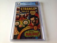 STRANGE TALES 148 CGC 5.5 ORIGIN ANCIENT ONE DOCTOR STRANGE KIRBY MARVEL COMICS