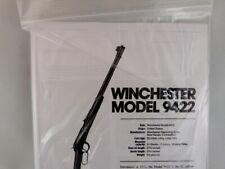 WINCHESTER MODEL 9422 RIFLE BREAK DOWN INSTRUCTION KIT