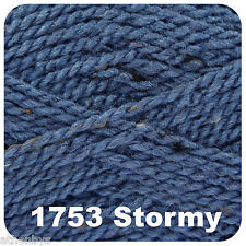 King Cole Big Value Aran 100gm Balls 15 Colours 1753 Stormy