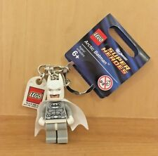 LEGO SUPER HEROES - ARTIC BATMAN KEY CHAIN  (850815) ITEM 6039454 BRAND NEW!