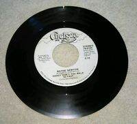 Wayne Newton Daddy Don't You Walk So Fast 45 Rpm Vinyl Single Chelsea Promo