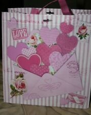Reuseable LOVE Letter Hearts Bag Tote Gift  NEW