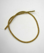 Beads Gold Flat Disc Beads 4-5mm
