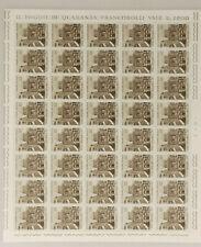 PRL) POSTE VATICANE LIRE 70 FOGLIO MNH** FRANCOBOLLI PAULUS VI TIMBRE STAMP
