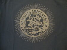 Lucky Brand Jeans Clothing Matchless American Denim Los Angeles Soft T Shirt M