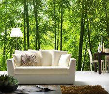Asian Bamboo Forest-12' x 8' (3,66m x 2,44m)-Wall Mural