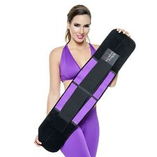 a9a9e7d74a Ann Michell Re 4025 Fitness Belt Power Workout Back Support Thermo Latex  Trainer Size 36 Purple