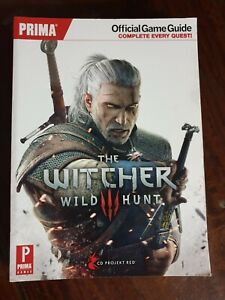 THE WITCHER 3: WILD HUNT: PRIMA OFFICIAL GAME GUIDE ~ FREE TRACKED POST ~
