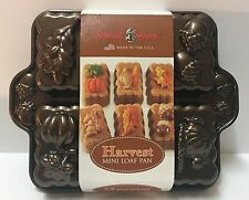 Nordic Ware Mini Loaf Pan Platinum Collection