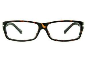 Icy 161 Large Rectangular Plastic Glasses With Prescription Lenses 55-13-135