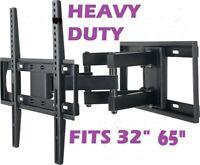 Husky TV Wall Mount Swivel 32 40 42 47 65 Inch LED LCD Flat Screen