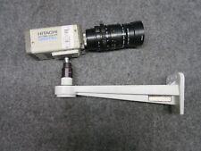 Hitachi KP-D50 Color Digital CCD Camera with TV Zoom Lens & Bracket *Working*
