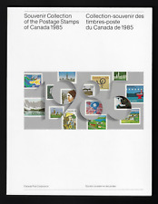 1985 Souvenir Annual Collection of the Postage Stamps of Canada Unitrade #28 MNH