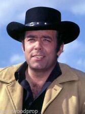 BONANZA ADAM CARTWRIGHT PERNELL ROBERTS STETSON WESTERN COWBOY BLACK HAT 7 5/8