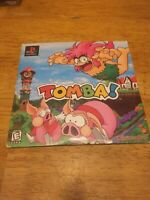 Tomba! Demo Disc Sony Playstation PS1 w/ Original Slip Cover - Tested