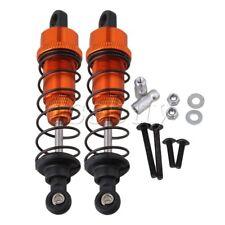 2x Orange Aluminum Shock Absorber for HPI WR8 FLUX RC1:10 Rally Car