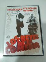 Copacabana Groucho Marx - El Espiritu Burlon Rex Harrison DVD Region 2 Nuevo
