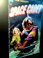 Space Cadet Vintage 3-D Poster Leather like feel large 11x17