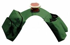 Showman GREEN Insulated Cordura Nylon Saddle Horn Bags w/ Water Bottles! NEW