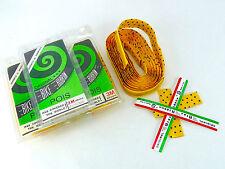 Ambrosio handlebar tape yellow W black polka dots vintage Bicycle NOS 3 packs