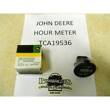 John Deere Hour Meter for Z820A,Z830A,Z850A,Z860A,Z910A,Z940A,Z950A TCA20451