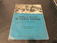Achille Schinelli Teoria Y Pratica Por Canto Coral Fascículo 3 Signorelli Ed
