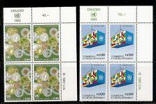 United Nations/Geneva SC # 117-118 Trade And Development Type. MNH