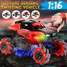 Remote Control Stunt RC Car Toy Gesture 1:16 Sensing Twisting Vehicle