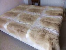 Plaid ou couvre-lit Fourrure Antilope 2m40 x 2m20