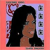 Sharon Robinson - Everybody Knows (2009)  CD  NEW/SEALED  SPEEDYPOST