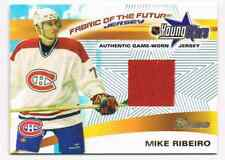 2001-02 BOWMAN YOUNGSTARS RELICS JEREYS MIKE RIBEIRO JERSEY 1 COLOR MONTREAL