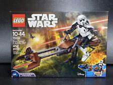LEGO Star Wars 75532 Scout Trooper and Speeder Bike Constraction Set