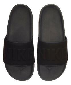 Nike Men's OffCourt Slide Sandals (Anthracite/Black) BQ4639-003