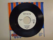 """KIM FOWLEY: (w/Skip Battin Of Byrds)Astrology-Other Side-U.S. 7"""" 63 Invicta 9002"""