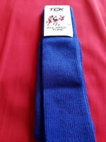 NWT TCK Unisex Tube Socks Multisport Royal Blue Size Small