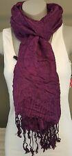 Scarf Women's Fashion Accessory Purple Design Trendy Hip Jaclyn Smith Gift Idea