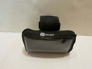 Gear Beast Sports Armband Smartphone Case Pouch Adjustable SM/MED Black