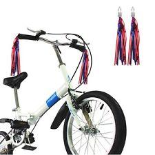 2 Pair Bicycle Handlebar Streamers Tassels Bike Cycling Tricycle Kids Girls