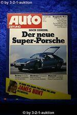 Auto Zeitung 24/76 Porsche 928 VW Polo Opel Kadett City Norton Commando 850